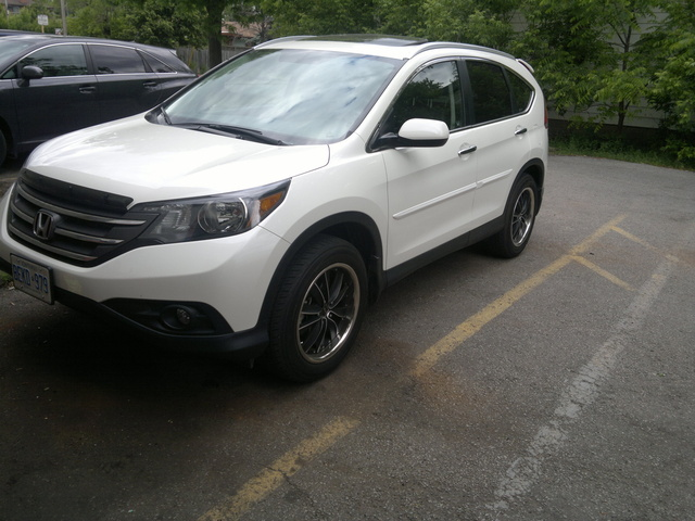 Picture of 2012 Honda CR-V EX-L w/ Nav AWD, exterior, gallery_worthy