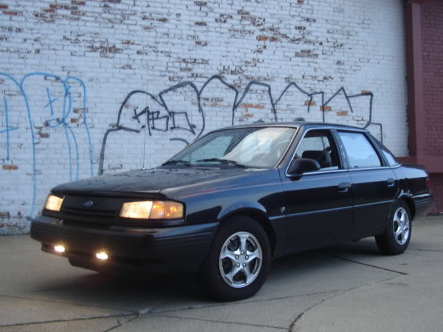 1992 Ford Tempo 4 Dr LX Sedan picture, exterior