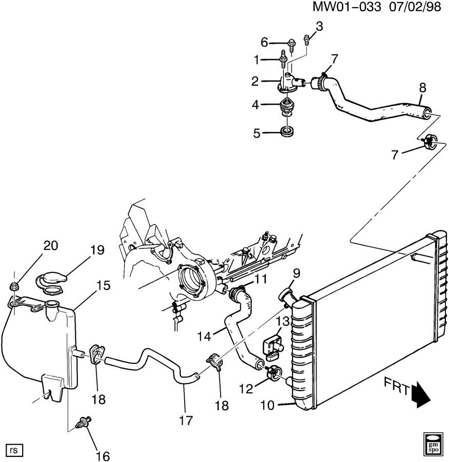 Buick Regal Cooling System Diagram - Wiring Diagrams on