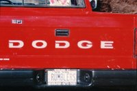 1989 Dodge Dakota Picture Gallery