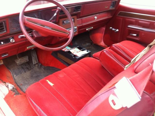 1977 Chevrolet Impala Interior Pictures Cargurus