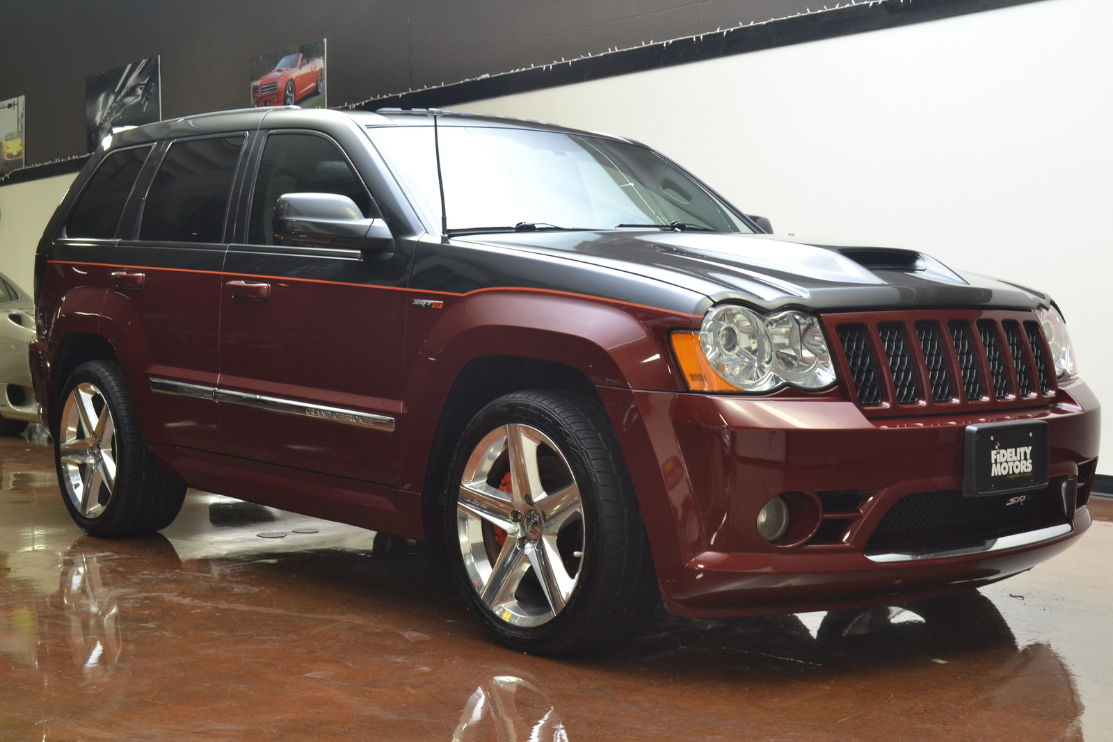 2008 jeep grand cherokee srt8 picture exterior. Cars Review. Best American Auto & Cars Review
