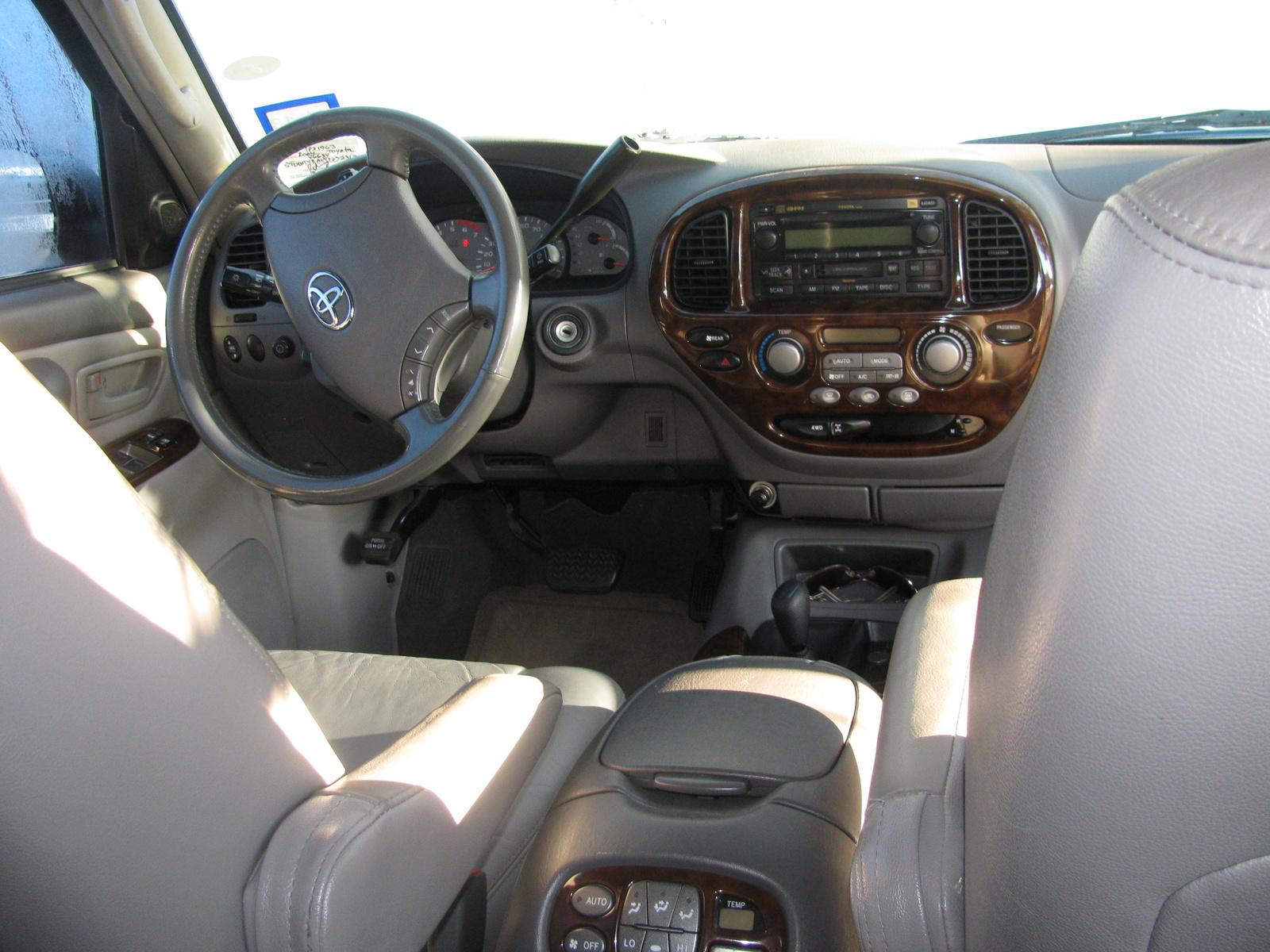 2004 Toyota Sequoia Interior Pictures Cargurus