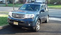 "2012 Honda Pilot Touring 4WD, ""Old Blue"", exterior, gallery_worthy"