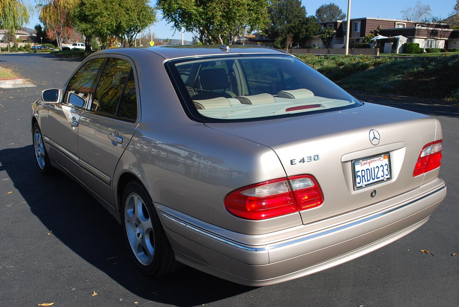 2002 Mercedes Benz E Class Trim Information Cargurus