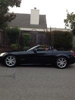 2005 Cadillac XLR 2 Dr STD Convertible, The Batmobile, exterior