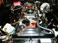 1974 Chevrolet Camaro picture, engine