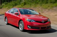 2013 Toyota Camry, Front-quarter view, exterior, manufacturer