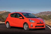 2013 Toyota Prius c, Front-quarter view, exterior, manufacturer