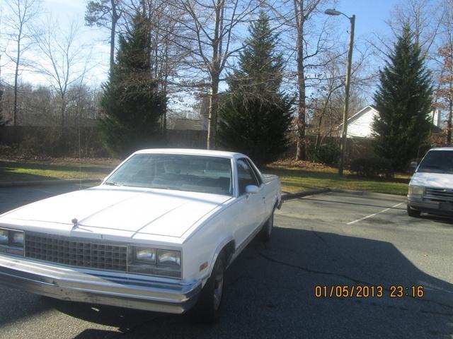 Picture of 1984 Chevrolet El Camino