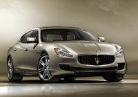 2013 Maserati Quattroporte, Front-quarter view, exterior, manufacturer