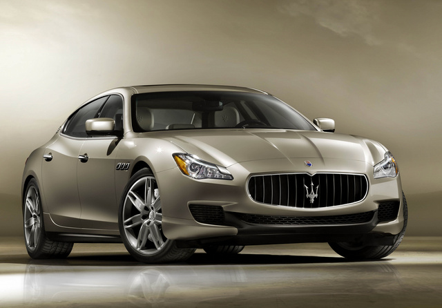 2013 Maserati Quattroporte, Front-quarter view, exterior, manufacturer, gallery_worthy