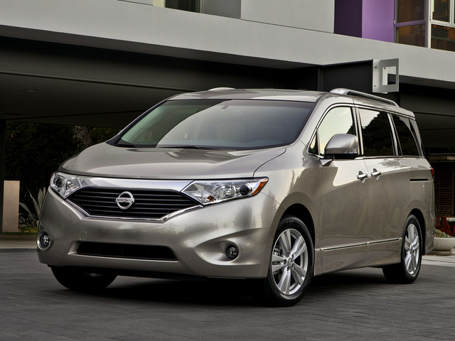 2013 Nissan Quest, Front-quarter view, exterior, manufacturer, gallery_worthy