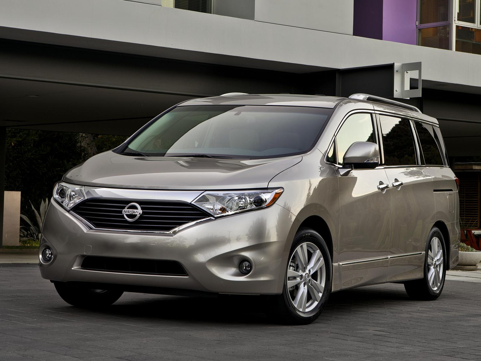 2013 Nissan Quest, Front-quarter view, exterior, manufacturer