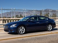 2013 Nissan Maxima, Front-quarter view, exterior, manufacturer, gallery_worthy