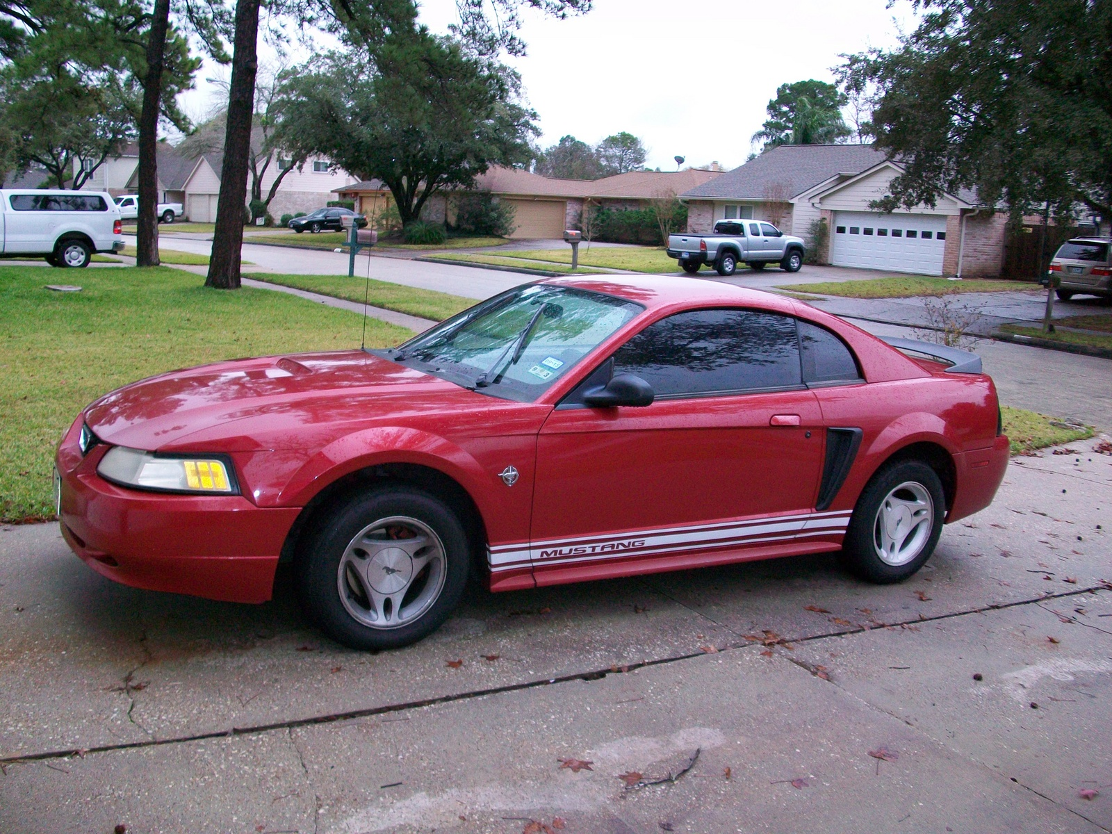 picture of 1999 ford mustang std coupe exterior. Black Bedroom Furniture Sets. Home Design Ideas