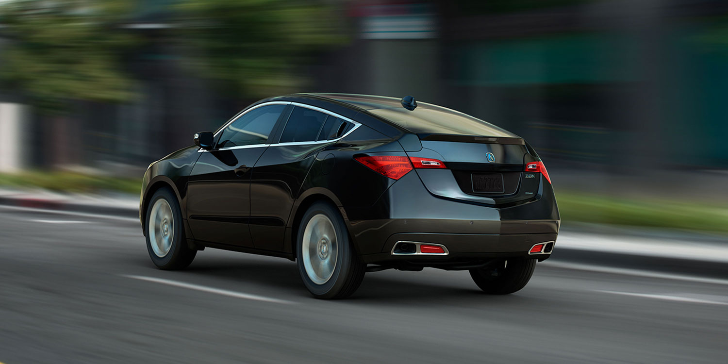 2013 Acura ZDX, left rear quarter view, manufacturer, exterior