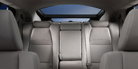 2013 Acura ZDX, rear passenger view full, manufacturer, interior