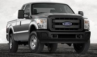 2013 Ford F-350 Super Duty, Front View., exterior, manufacturer, gallery_worthy