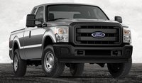 2013 Ford F-350 Super Duty, Front View., exterior, manufacturer