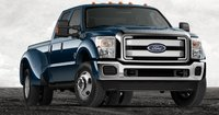2013 Ford F-450 Super Duty, Front quarter view., manufacturer, exterior