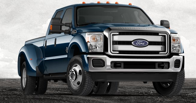 2013 Ford F-450 Super Duty, Front quarter view., exterior, manufacturer