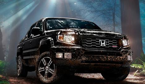 2013 Honda Ridgeline, Front view, manufacturer, exterior