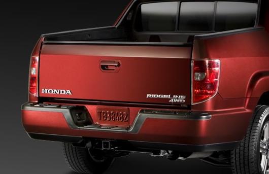 2013 Honda Ridgeline, Back quarter view., exterior, manufacturer