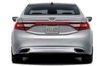 2013 Hyundai Azera, Back View., exterior, manufacturer