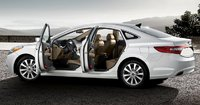 2013 Hyundai Azera, Side view., manufacturer, exterior, interior