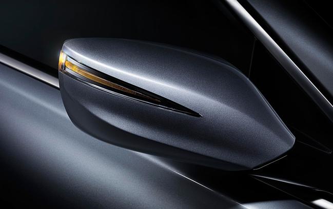 2013 Hyundai Azera, Side Mirror., exterior, manufacturer