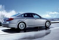 2013 Hyundai Genesis, Back quarter view., exterior, manufacturer