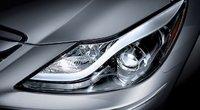 2013 Hyundai Genesis, Headlight., exterior, manufacturer