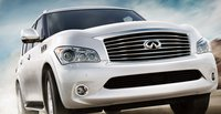 2013 Infiniti QX56, Front quarter view., exterior, manufacturer
