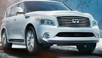 2013 INFINITI QX56, Front quarter view., exterior, manufacturer, gallery_worthy