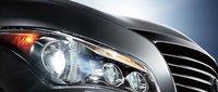 2013 Infiniti QX56, Headlight., exterior, manufacturer