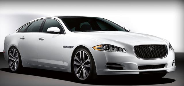 2013 Jaguar XJ-Series, Front quarter view., exterior, manufacturer
