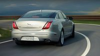 2013 Jaguar XJ-Series, Back quarter view., exterior, manufacturer