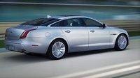 2013 Jaguar XJ-Series, Back quarter view., exterior, manufacturer