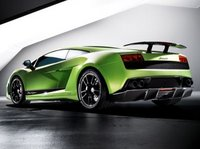 2013 Lamborghini Gallardo, Back quarter view copyright AOL Autos., manufacturer, exterior