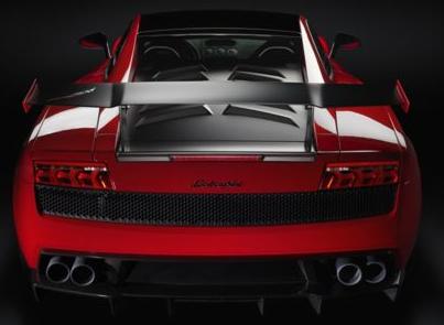 2013 Lamborghini Gallardo, Back View copyright AOL Autos., exterior, manufacturer
