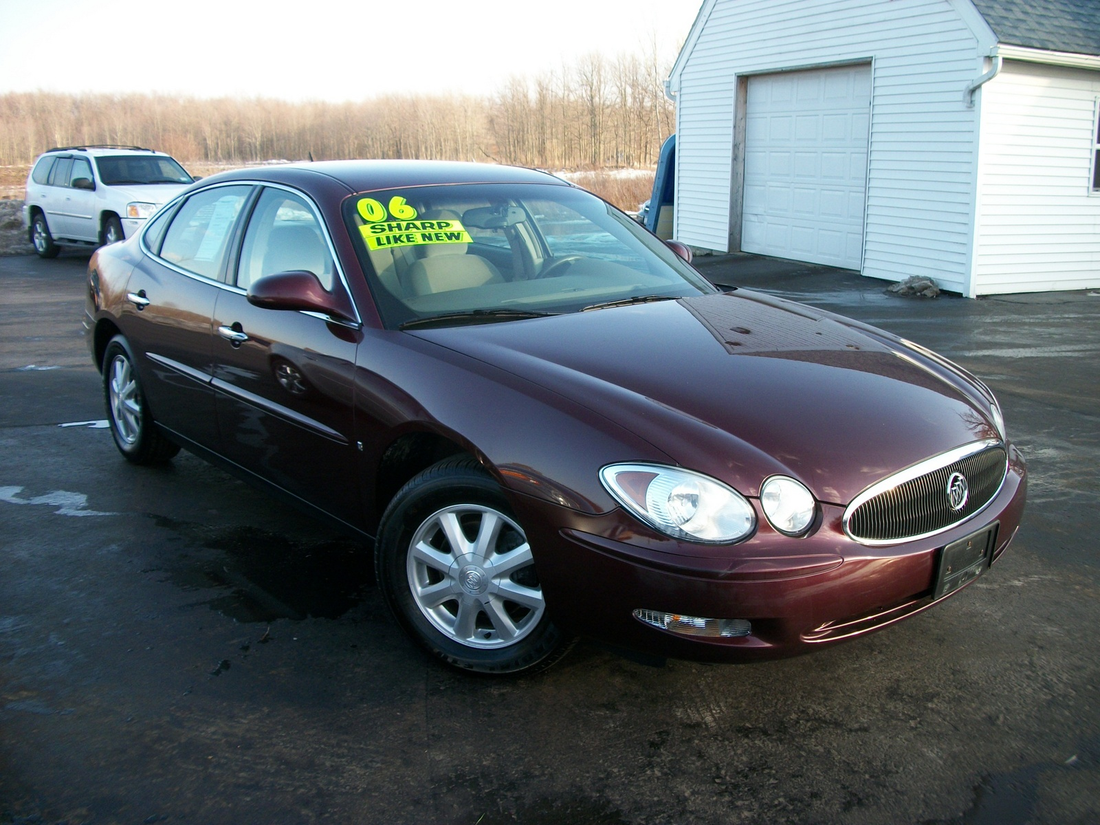 Buick Lacrosse Cx Pic on 2007 Buick Lacrosse Cxl Reviews