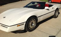 1987 Chevrolet Corvette Convertible, Front view, exterior