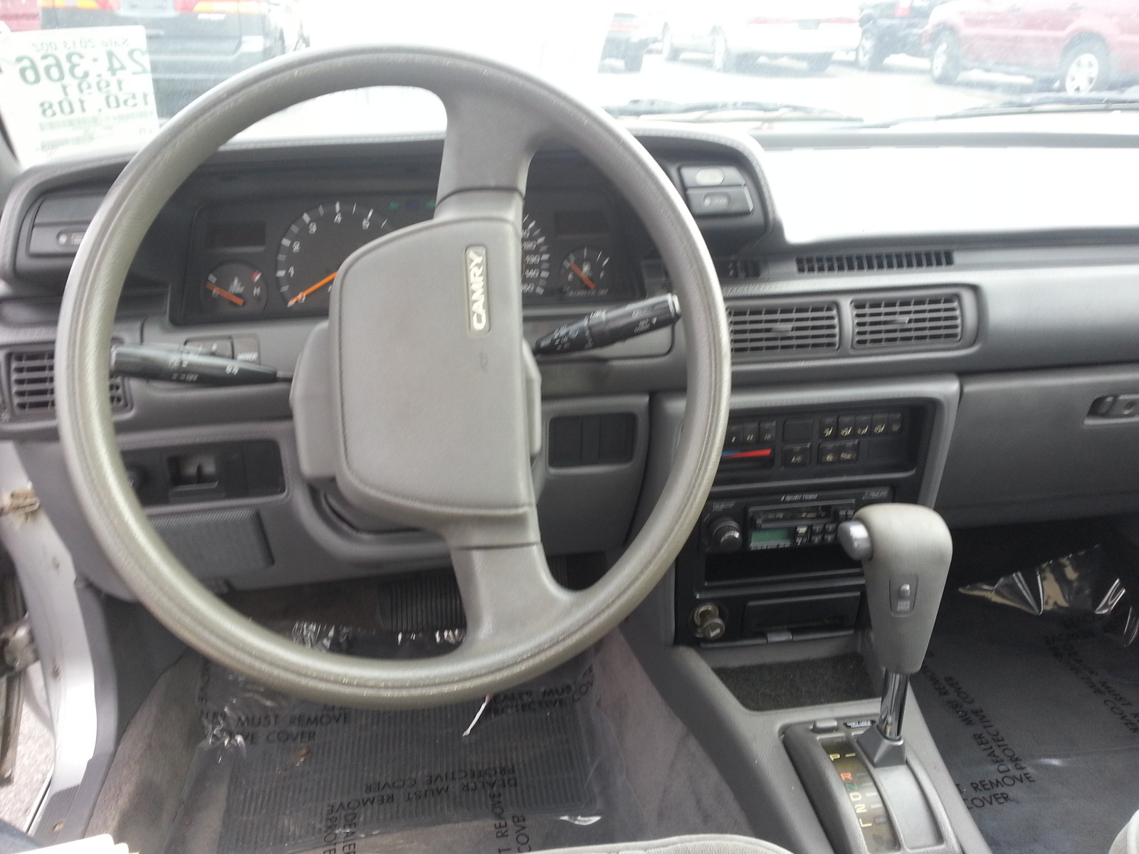 1989 Toyota Camry - Pictures - CarGurus  |1987 Toyota Camry Interior