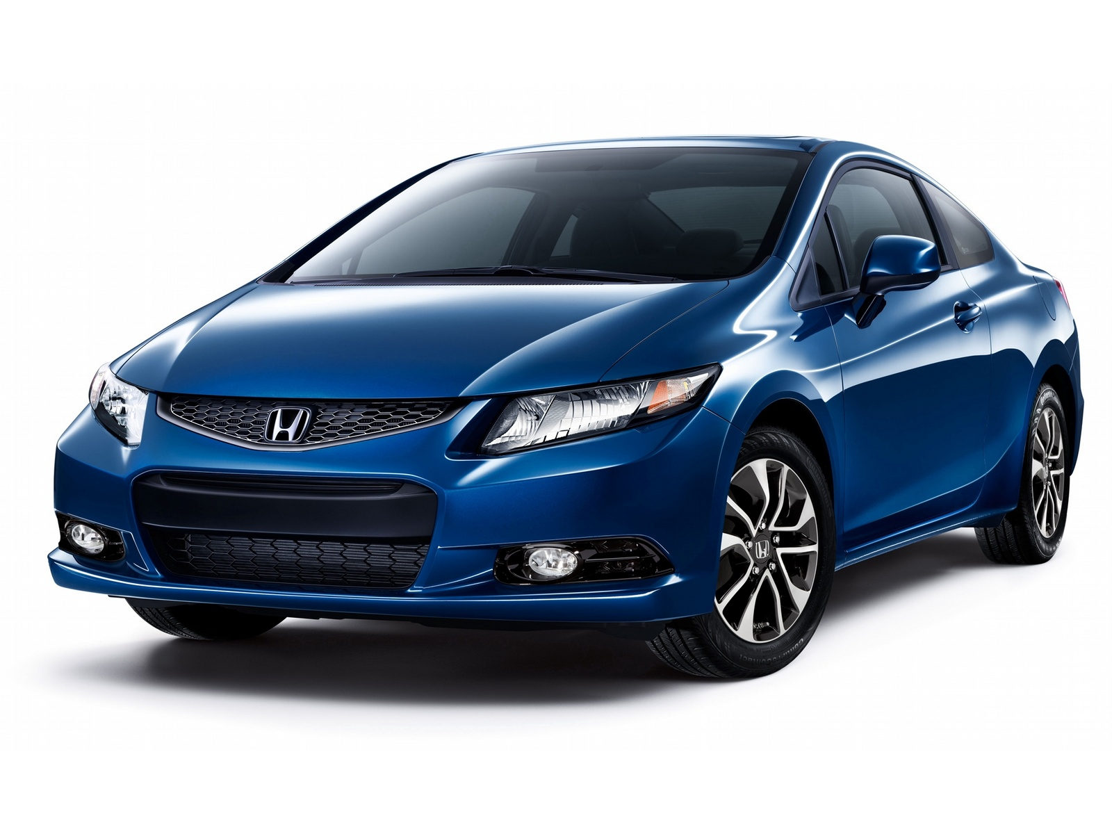 2013 Honda Civic Coupe, Front-quarter view, exterior, manufacturer