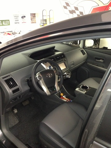 Picture of 2012 Toyota Prius v Five, interior, gallery_worthy