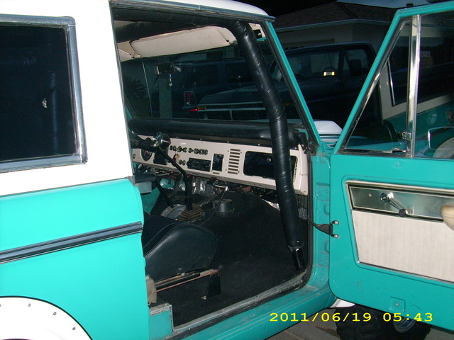 Picture of 1969 Ford Bronco, interior