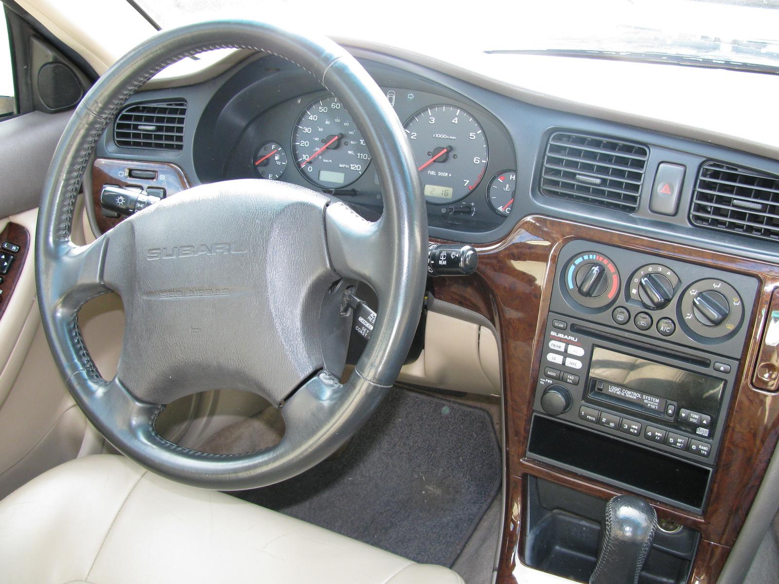 subaru outback 2000 limited wagon interior cargurus
