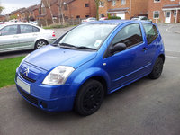 2006 Citroen C2, How it looked with some mods completed., exterior