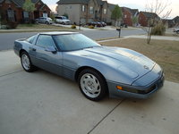 1991 Chevrolet Corvette Coupe, 1991 Chevrolet Corvette Base picture, exterior
